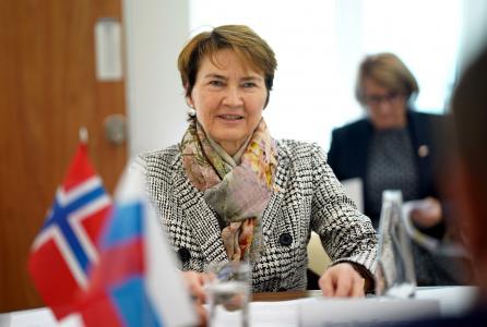 Встреча сопредседателей Смешанной Российско-Норвежской комиссии по рыболовству накануне МРФ -2021