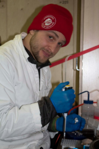 Отбор проб на генетику рыбы