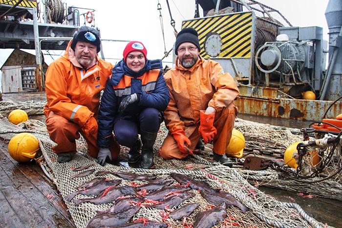 долгожданный улов синекорого палтуса