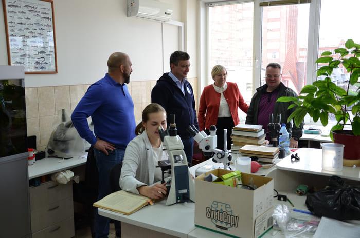 Кирилл Колончин ознакомился с работой Красноярского филиала