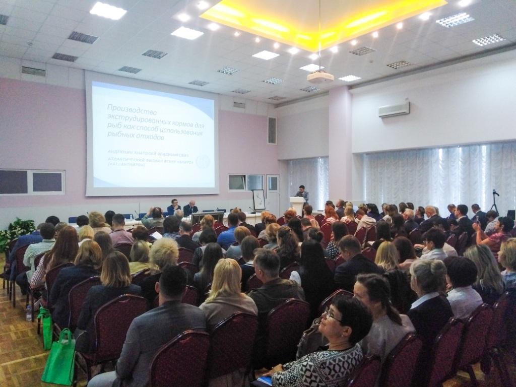 В г. Светлогорск Калининградской области прошла XII Международная научно-практическая конференция «Производство рыбной продукции: проблемы, новые технологии, качество»